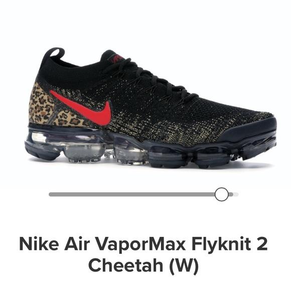 air vapormax flyknit 2 cheetah